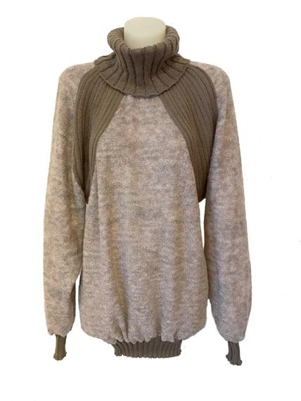 Sweater Vivian Chan Shaw Nestor Beige grey top