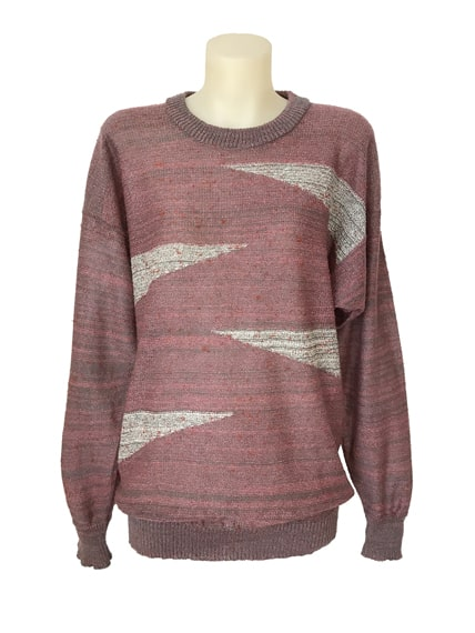 Sweater Vivian Chan Shaw wedge geometrics